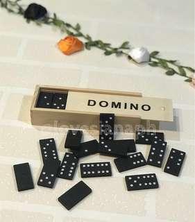 Mini Wooden Domino