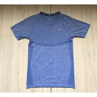 Nike Running 健身 跑步 針織 短袖 S號