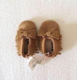 GAP Fringed Moccasins