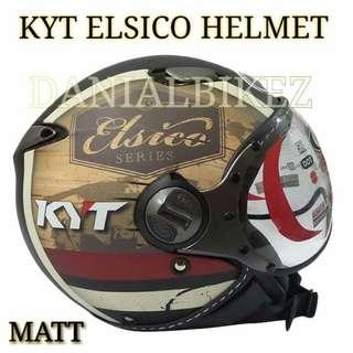 kyt Half  cap helmet Matt