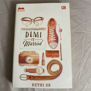 Preloved Metropop novel Dimi Is Married