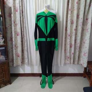 Green lantern onesie costume