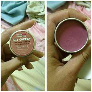 Queenelly's lip and cheek tint balm