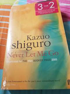 Kazuo Ishiguro Never Let me Go