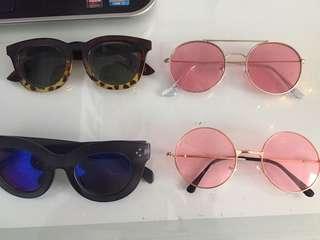 sunglasses new retro vintage cat eye $5 each