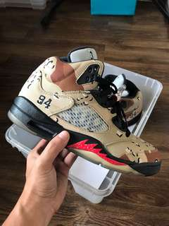 Nike Air Jordan 5 x Supreme Camo