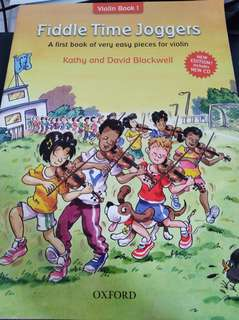 Fiddle Time Joggers Violin Book 1