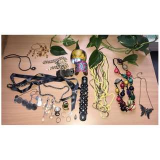 Jewellery lot or choose individual items.