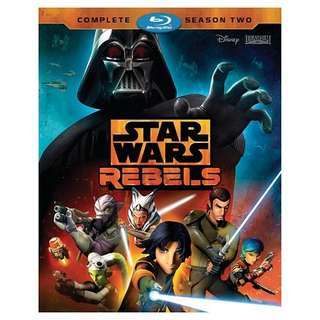 Blu-Ray Star Wars Rebels Season 2 Complete