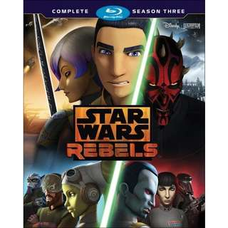 Blu-Ray Star Wars Rebels Season 3 Complete