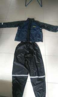 TRAX rain jacket complete set