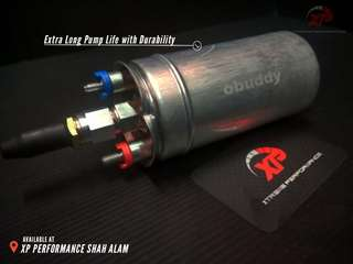 External Fuel Pump OBUDDY 340lph racing fuel
