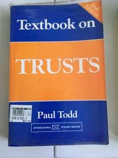 Textbook on trust