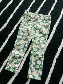 Auth Next Uk flower jeans