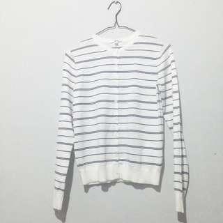 Uniqlp Stripes Cardigan