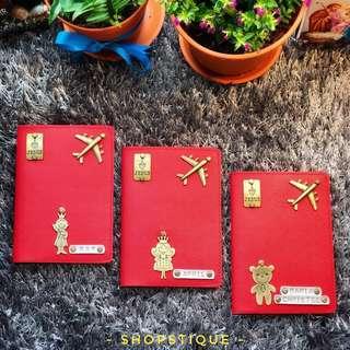 Personalised Passport Holder, Customised Passport Cover, Unique Gift Idea