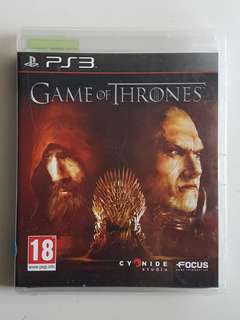 Ps3 Game of Thrones Game