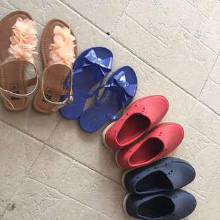 Preloved Bundle Shoes and Slippers