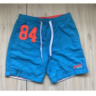 Superdry Waterpolo 海灘褲 M、L號