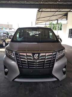 Toyota Alphard 2015 unregistered for sale