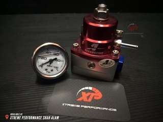 Fuel Regulator AEROMOTIVE FPR-005 Red With Meter