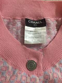Authentic Chanel Button Down Sweater