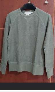 Sweater crowneck hijau H&M