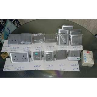 *半價至7折發售* 抵!多款全新E3000系列 Schneider電制 (灰色)