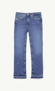 Zara bootcut rostov blue jeans