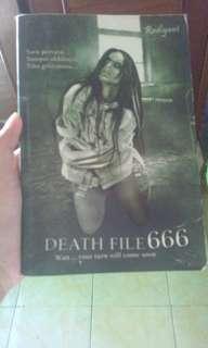 Novel DEATH FILE 666