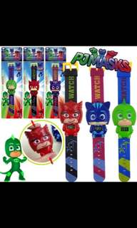 Pj masks Gifts watch and cake decoration figure