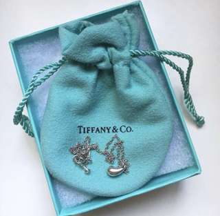 Tiffany & Co Elsa Peretti Teardrop Necklace