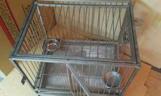 寵物籠 狗籠 小型犬約2尺(60cm)自取佳,目前剩下圖二