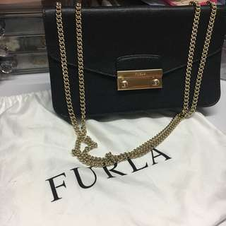 90%New Furla 2ways handbag