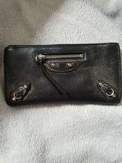 Balenciaga long wallet