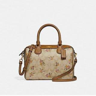 AUTHENTIC COACH MINI BANNET SATCHEL