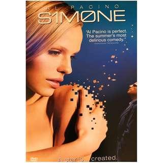 DVD - SIMONE (ORIGINAL USA IMPORT CODE 1)