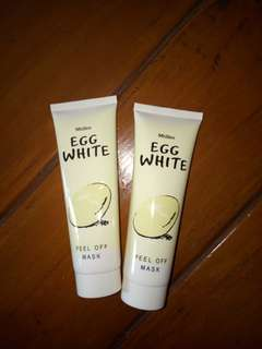 Mistine egg white peel off mask