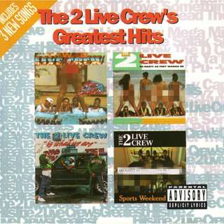 CD USA The 2 ( two ) Live Crew ‎– Greatest Hits