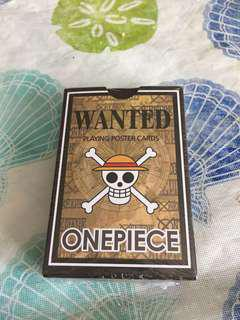 One Piece poster card from Korea