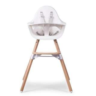 Childhome Evolu 2 High Chair (Natural / White)