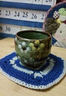 Plum flower binglie ceramic Japan tea cup