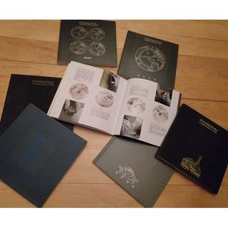 Panerai collection catalogue 7 booklet