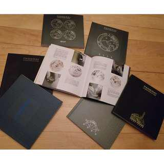 Panerai collection catalogue 7 booklet