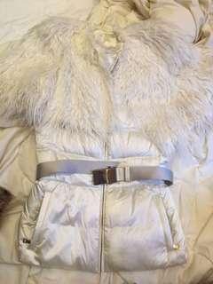 Prada white down jacket ! Two pieces!