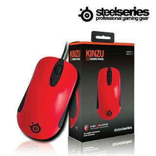 SteelSeries Kinzu V3 Gaming Mouse Red