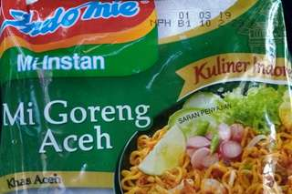 Indomie Goreng Aceh