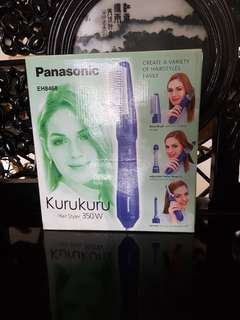 Hairdryer brush portable