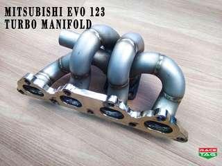 MITSUBISHI EVO 123 T. DOWN TURBO MANIFOLD