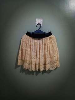 Boho skirt (cream)